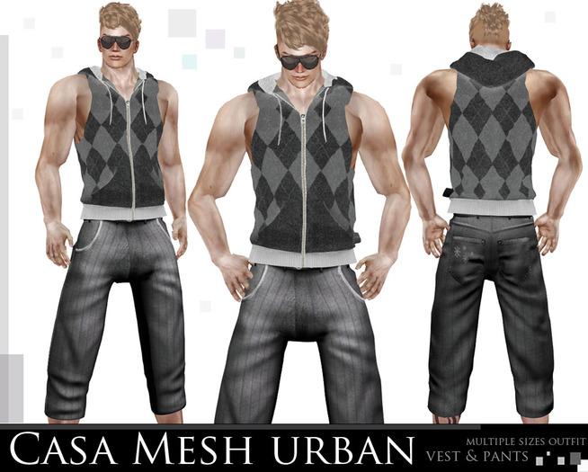 mesh Casa D. Urban outfit (grey)