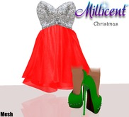 .:*Millicent*:. Christmas Outfit Promotion
