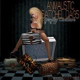 Animalistic Satchel Bag-MESH-tiger