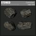 :Fanatik Architecture: STONED mesh rocks  / stones / landscaping kit