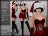 Tameless clothing package naughty santa petite