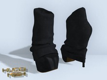 ::HH:: Hucci Westerly Booties - Midnight