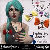 Schadenfreude PonPon Eye Jewelry (Mesh viewer required!)