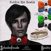 Schadenfreude PonPon Eye Bowtie (Mesh viewer required!)