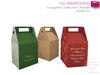 Full Perm Mesh Corrugated Cardboard Gift Box - Builder's Kit