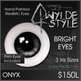 - Bright Onyx Eyes - by Khyle Sion at ~Refined Wild~