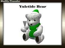 Satiated Desires: Yuletide Bear.