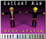 CRUSHED-GALLANT MAN(MESH)