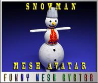 SNOWMAN-2-MESH