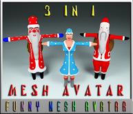 Santa Claus 3 in 1(MESH)