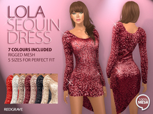 [*RG*] Lola Sequin Dress   *REDGRAVE*