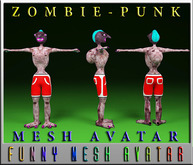ZOMBIE-PUNK(MESH)