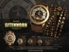 -UNISEX-[MANDALA]SITENNOAH_watch&bracelet_BROWN