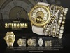 -UNISEX-[MANDALA]SITENNOAH_watch&bracelet_WHITE