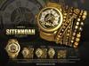 -UNISEX-[MANDALA]SITENNOAH_watch&bracelet_GOLD