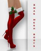 Chrysalis - Christmas Mesh Boots