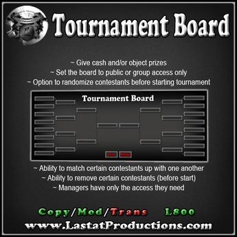 Tournament Board / Competition Board