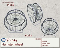 *~M`n B~* Hamster wheel (box)