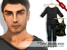 David Male Full Avatar - [BND] Special Offert ! Limited Time !