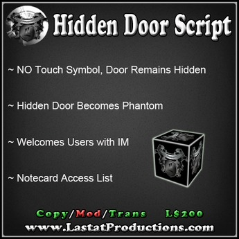 Hidden Phantom Door with Access List