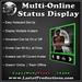 Multi-Online Status Display