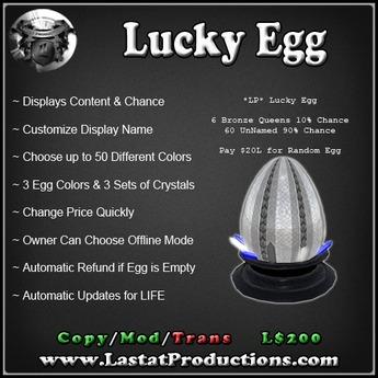 LP Lucky Egg For Breedable Precious Dragons