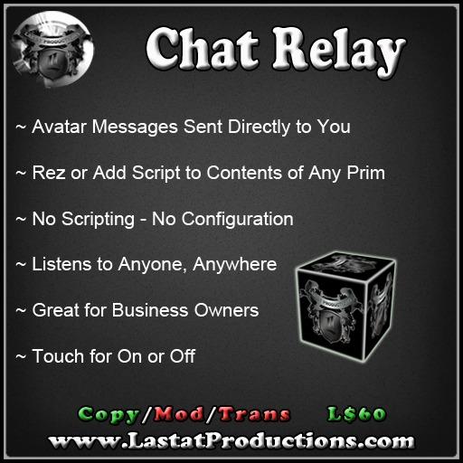 Chat Relay IM / Chat SPY