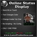 Online Status Display
