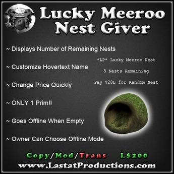 Lucky Meeroo Nest Giver / Random Giver