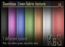 <K&S> Linen fabric texture (7 colors) Full perm.