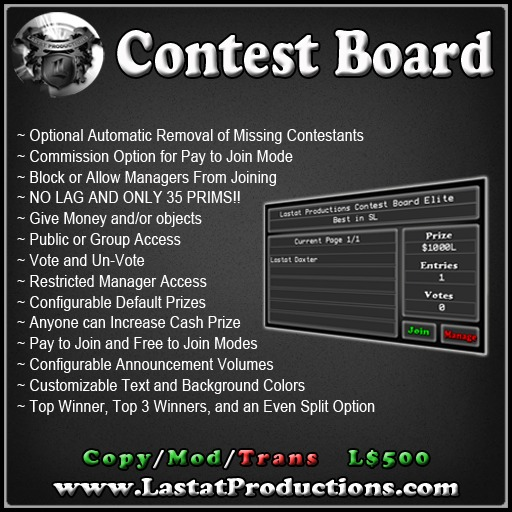 Contest Board Elite