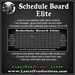 Schedule Board Elite / Staff Board / Employee Board
