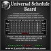 Universal Schedule Board