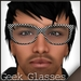 *Zanzo* Checkered Geek Glasses