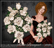 [Wishbox] Premier Rose Bouquet (Champagne) - Wedding, Bridal, Valentine's Day gift, romantic present, sculpted dozen