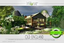 inVerse®-  OLD ENGLAND full furnished 500+ anims house cottage
