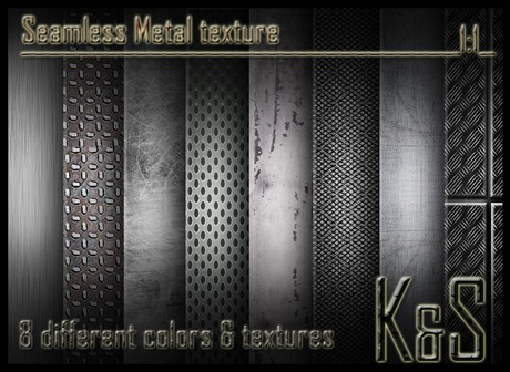 Second Life Marketplace Metal Texture 8 Different