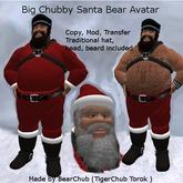 Big Chubby Santa Bear Avatar Box
