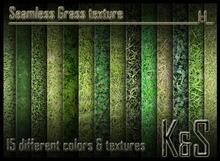 <K&S> Seamless Grass texture (15 different textures) Full Perm.