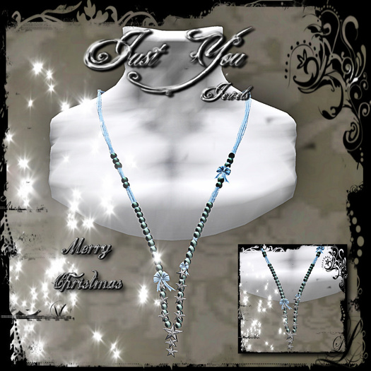 [LIMITED OFFER ] *** Just You Jewels *** Necklace Merry Christmas - Christmas Gift