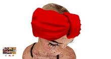 [7891.] Hunty Turban - Red (W\Rseize)