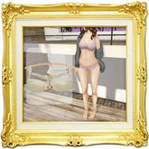 ''{ RoA }'' -Frill jewelry Lingerie(Cream)