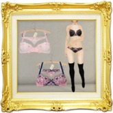 ''{ RoA }'' -Romantic embroidered Lingerie (FAT)