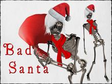 Bad Santa-Sculpted skeleton avatar