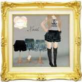''{ RoA }'' -Frill mini skirt (Light SET)