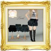 ''{ RoA }'' -Frill mini skirt (Dark SET)