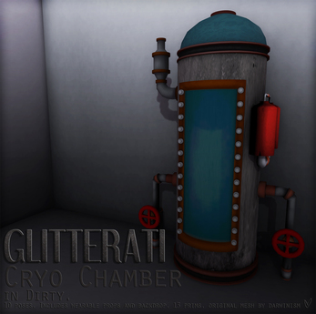 GLITTERATI - Cryo Chamber - Dirty