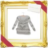''{ RoA }'' -Cowichan Hoodie Sweater(WH)