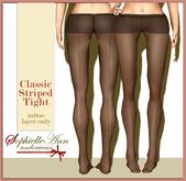 SophielleAnn Classic Striped Tights