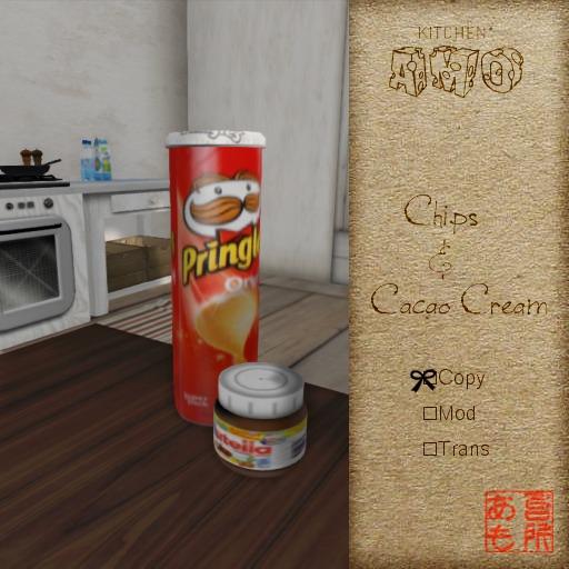 :: Kitchen AMO :: Chips & Cacao cream